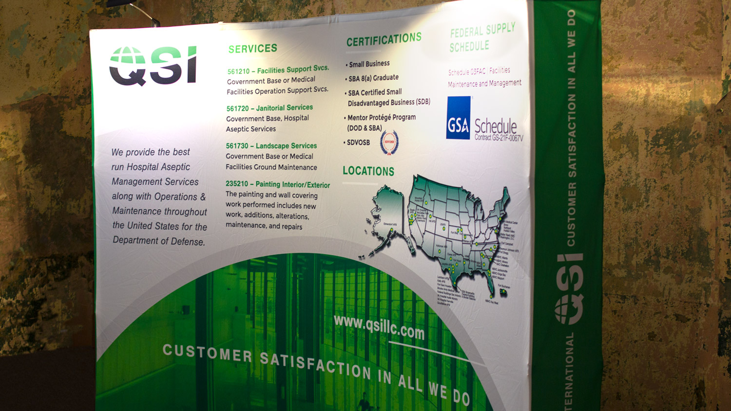 QSI Booth Display