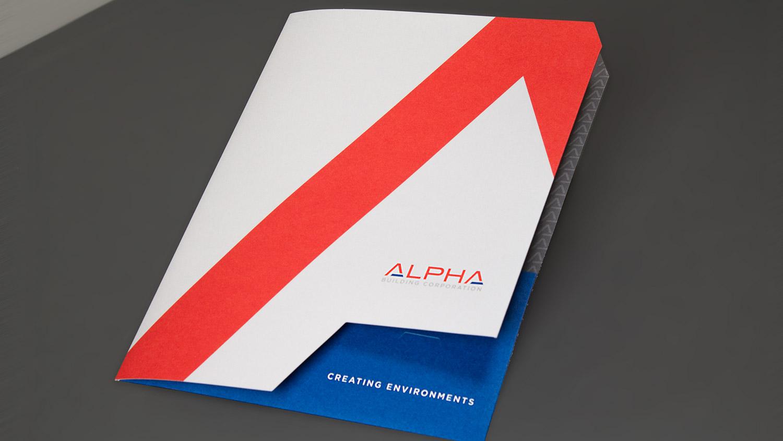 Alpha Building Corp. Folder